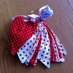 Red & white spotty bunting